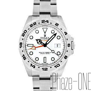 buy popular 84fcf 39113 ロレックス 即日発送可 新品 エクスプローラーII 216570 腕時計 ...