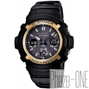 新品 即日発送可 カシオ Gショック ブラック ゴールド シリーズ ソーラー 電波 時計 メンズ 腕時計AWG-M100BC-1GJF