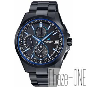 カシオ オシアナス クラッシックライン ソーラー 電波 時計 メンズ 腕時計 OCW-T2600B-1AJF