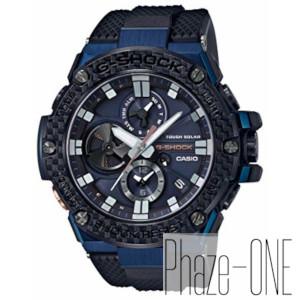 新品 即日発送可 カシオ Gショック G-STEEL Bluetooth搭載 ソーラー 時計 メンズ 腕時計 GST-B100XB-2AJF