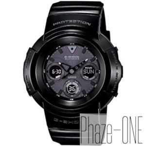 新品 即日発送可 カシオ Gショック Grossy Black Series ソーラー 電波 時計 メンズ 腕時計 AWG-M510BB-1AJF