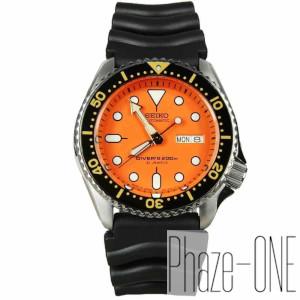 【コスパ高め】セイコー ダイバーズ オレンジボーイ 自動巻き 時計 メンズ 腕時計 SKX011J