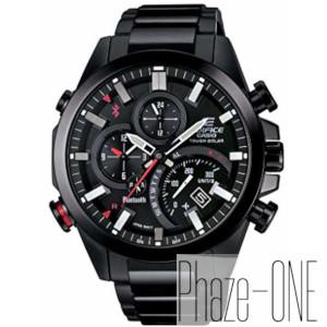 カシオ エディフィス タイムトラベラー モバイルリンク ソーラー 時計 メンズ 腕時計 EQB-501DC-1AJF