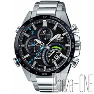 カシオ EDIFICE モバイルリンク ソーラー 時計 メンズ 腕時計 EQB-501XDB-1AJF