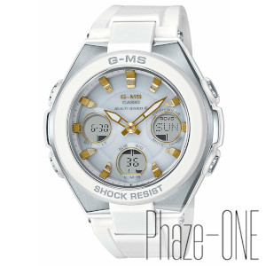 カシオ ベイビーG ジーミズ ソーラー 電波 時計 レディース 腕時計 MSG-W100-7A2JF