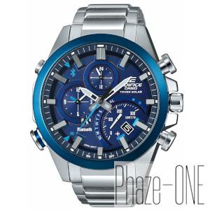 カシオ エディフィス モバイルリンク タイムトラベラーソーラー 時計 メンズ 腕時計 EQB-501DB-2AJF