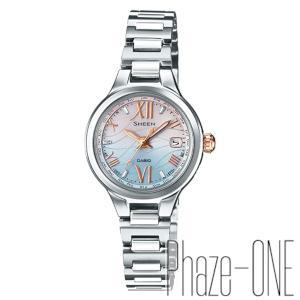 カシオ シーン ソーラー 電波 時計 レディース 腕時計 SHW-1700D-7AJF