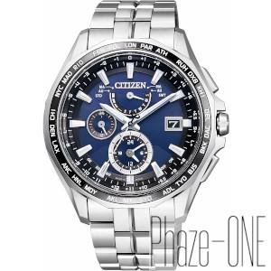 シチズン アテッサ ダブルダイレクトフライト ソーラー 電波 時計 メンズ 腕時計 AT9090-53L