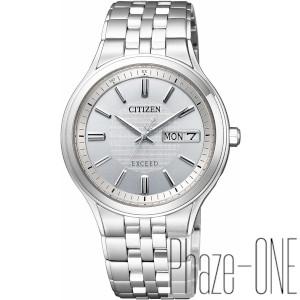 シチズン エクシード ソーラー 電波 時計 メンズ 腕時計 AT6000-61A