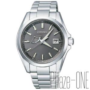 シチズン ザ・シチズン ガンメタリックモデル ソーラー 時計 メンズ 腕時計 AQ1030-57H