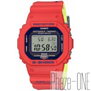 新品 即日発送可 カシオ Gショック 神戸市消防局 救助隊50周年 コラボレーションモデル ソーラー 電波 時計 メンズ 腕時計 GW-B5600FB-4JR