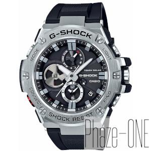 カシオ Gショック Gスティール ブルートゥース機能搭載 ソーラ- 時計 メンズ 腕時計 GST-B100-1AJF