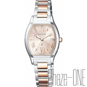 シチズン クロスシー ソーラー 電波 時計 レディース 腕時計 ES8154-55W
