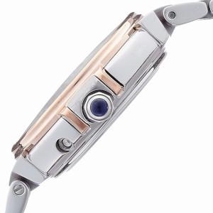 シチズン エクシード EUROS シリーズ ソーラー 電波 時計 レディース 腕時計 ES1036-50A
