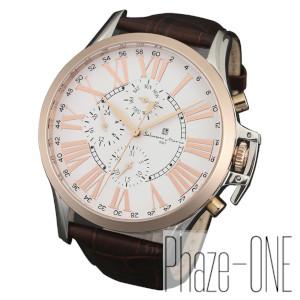 新品 即日発送可 サルバトーレマーラ マルチカレンダー クォーツ 時計 メンズ 腕時計 SM14123-PGWH