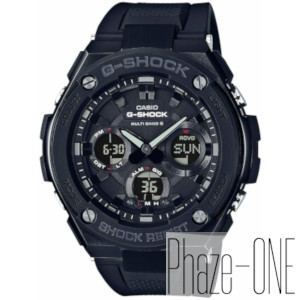 カシオ Gショック Gスチールシリーズ ソーラー 電波 時計 メンズ 腕時計GST-W100G-1BJF