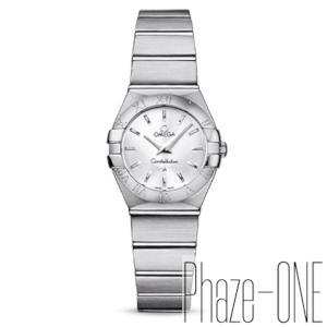 新品 即日発送可 オメガ コンステレーション ブラッシュ クオーツ 時計 レディース 腕時計 123.10.24.60.02.001
