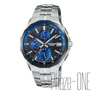 カシオ オシアナス Manta Premium Production Line Bluetooth機能搭載 ソーラー 電波 時計 メンズ 腕時計 OCW-S5000E-1AJF