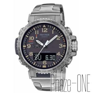 カシオ PROTREK Climber Line ソーラー 電波 時計 メンズ 腕時計 PRW-50T-7AJF