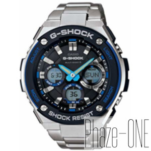 新品 即日発送可 カシオ Gショック Gスティール ソーラー 電波 時計 メンズ 腕時計 GST-W100D-1A2JF