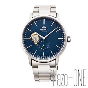 オリエント コンテンポラリー セミスケルトン スモールセコンド 自動巻き 手巻き メンズ 腕時計 RN-AR0101L