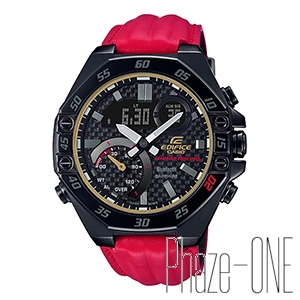 カシオ EDIFICE Honda Racing Limited Edition Bluetooth クォーツ メンズ 腕時計 ECB-10HR-1AJR
