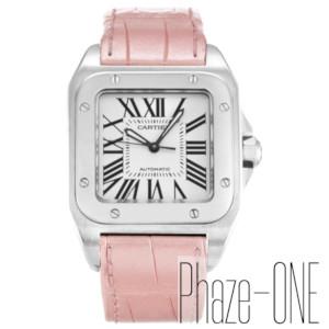 新品 即日発送可 カルティエ サントス100 自動巻き レディース メンズ 腕時計 W20126X8