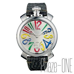 新品 即日発送可 ガガミラノ マヌアーレ 48MM ミラー 世界限定500本 手巻き メンズ 腕時計 5210.MIR.02S