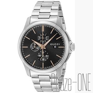【】 グッチ Gタイムレス クロノグラフ クォーツ メンズ 腕時計 YA126272