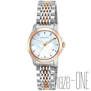 グッチ Gタイムレス クォーツ 時計 レディース 腕時計 YA126537
