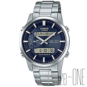 新品 即日発送可 カシオ リニエージ デジアナ ソーラー 電波 時計 メンズ 腕時計 LCW-M600D-2AJF