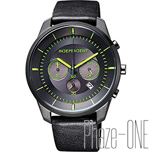 新品 即日発送可 シチズン インディペンデント Timeless Line Chronograph ソーラー メンズ 腕時計 KF5-144-50
