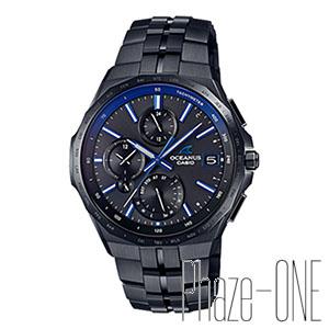 カシオ オシアナス マンタ Bluetooth機能搭載 ソーラー 電波 メンズ 腕時計 OCW-S5000B-1AJF