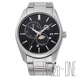 オリエント コンテンポラリー サンアンドムーン 自動巻き 手巻き メンズ 腕時計 RN-AK0302B