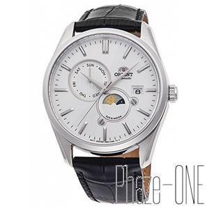 オリエント コンテンポラリー サンアンドムーン 自動巻き 手巻き メンズ 腕時計 RN-AK0305S