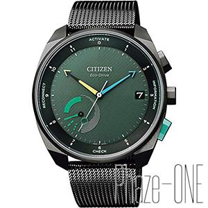 シチズン エコ・ドライブ Riiiver Bluetooth ソーラー メンズ 腕時計 BZ7005-74X