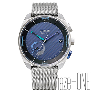 シチズン エコ・ドライブ Riiiver Bluetooth ソーラー メンズ 腕時計 BZ7000-60L