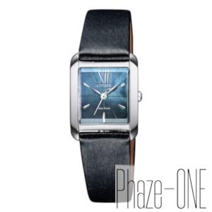 シチズン シチズン L エコ・ドライブ スクエアケース ソーラー レディース 腕時計 EW5557-17N