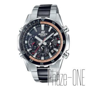 カシオ EDIFICE ソーラー 電波 時計 メンズ 腕時計 EQW-T670SBK-1AJF