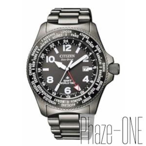 シチズン プロマスター エコ・ドライブ ソーラー 電波 時計 メンズ 腕時計 BJ7107-83E