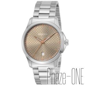 【あす楽対応】 グッチ Gタイムレス クォーツ メンズ 腕時計 YA1264053