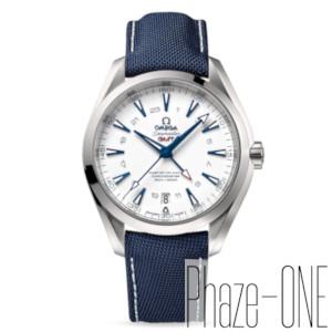 新品 即日発送可 オメガ シーマスター アクアテラ グッドプラネット GMT 自動巻き 時計 メンズ 腕時計 231.92.43.22.04.001