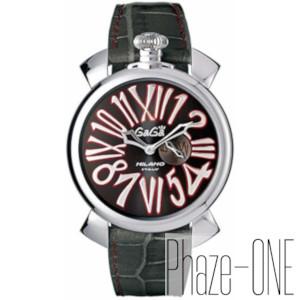 新品 即日発送可 ガガミラノ スリム46MM クォーツ メンズ 腕時計 5084.2