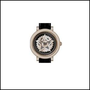 Anne Coquine ankokinu MINI STAR SERIES小明星系列施華洛世奇黄金黑色人分歧D陰謀陰謀手錶