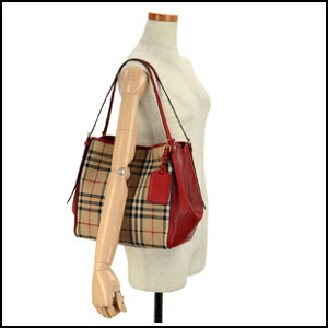 New same day shipment Burberry hose ferry check Lady s shoulder bag 3939898  7050B 98eca89e48