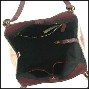 Burberry BURBERRY HOUSE CHECK DERBY LE Lady s shoulder bag 3963029  SMCANTERBY L MAHOGANY RED 4d04408042