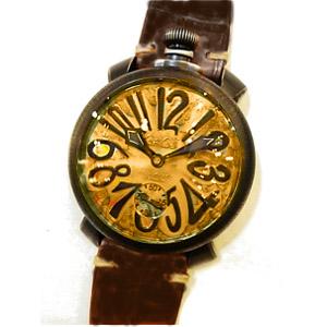 新品 即日発送可 ガガミラノ マヌアーレ ヴィンテージ 48mm 手巻き 時計 メンズ 腕時計 5012.VINTAGE