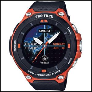 カシオ スマート アウトドア ウォッチ プロトレック スマート ユニセックス 腕時計 WSD-F20-RG