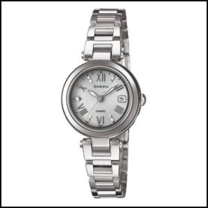 新品 即日発送 カシオ シーン ソーラー 電波 時計 レディース 腕時計 SHW-1505D-7AJF
