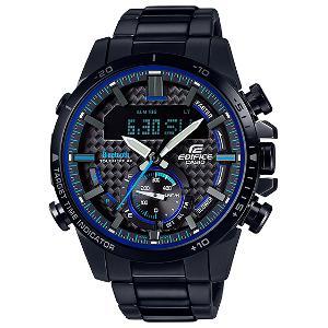 国内正規品 国内送料無料 CASIO 男性用 ウォッチ カシオ エディフィス モバイルリンク ソーラー 時計 メンズ 腕時計 ECB-800DC-1AJF